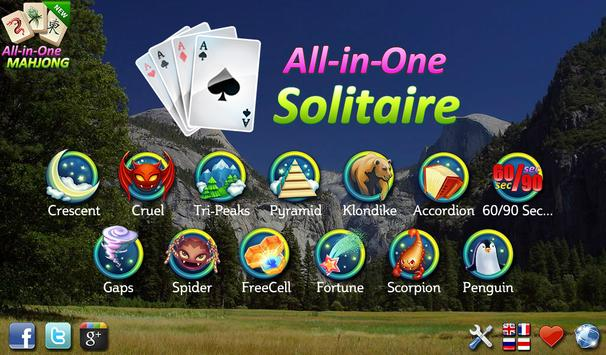 All-in-One Solitaire FREE poster