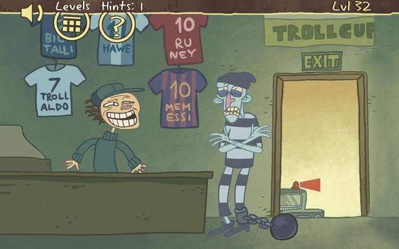 Troll Face Quest: Sports Puzzle screenshot 23