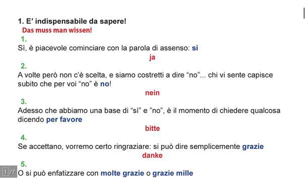 Italian  - SPEAKit! (d) screenshot 4