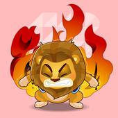 QBM宝贝趣悦读_爱生气的小狮子波波 icon