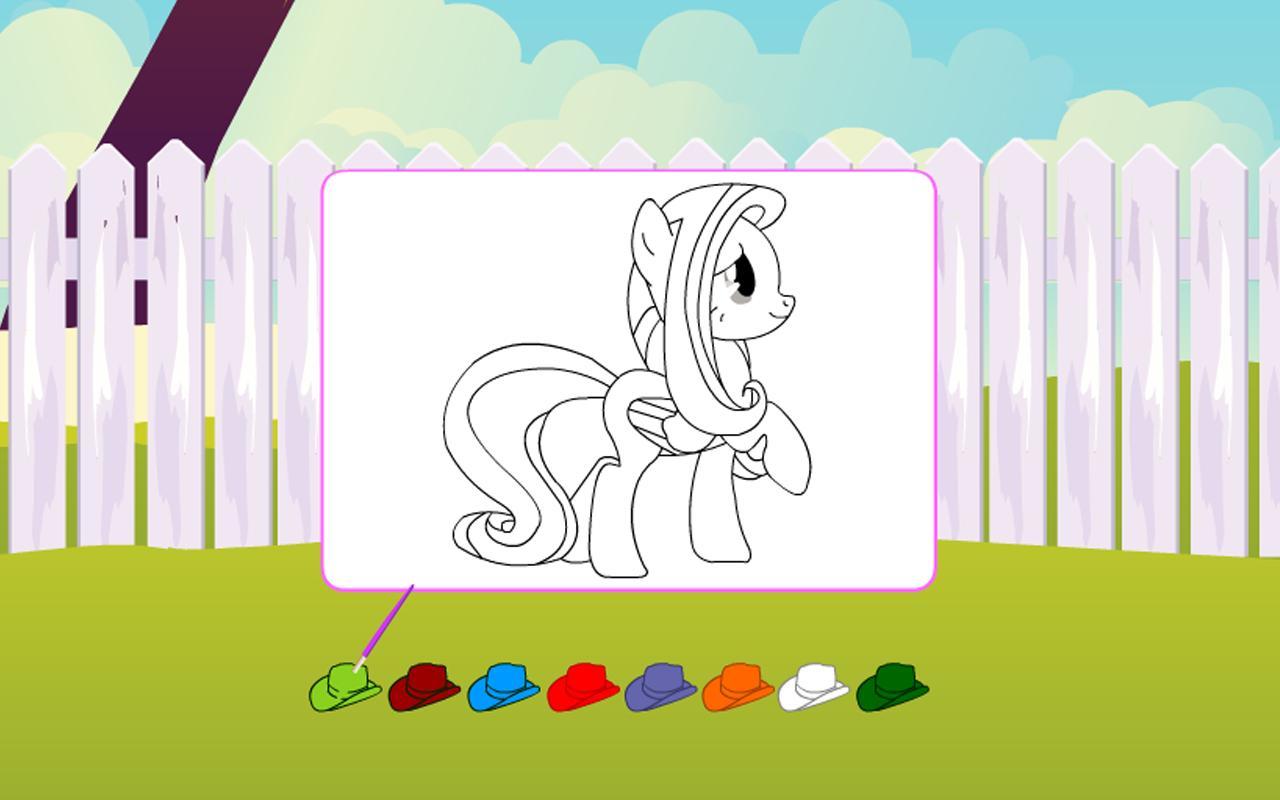 Mewarnai Kuda Poni Coloring For Android Apk Download