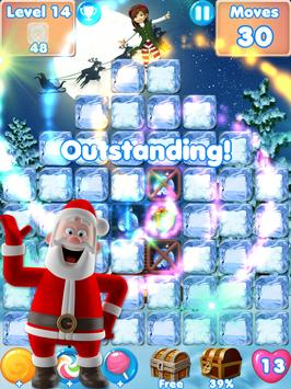 Christmas Crunch❄️ match 3 games & candy puzzle screenshot 12