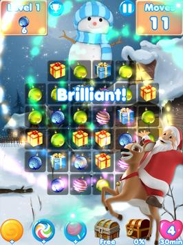 Christmas Crunch❄️ match 3 games & candy puzzle screenshot 5