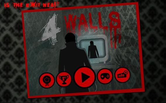 4 Walls poster