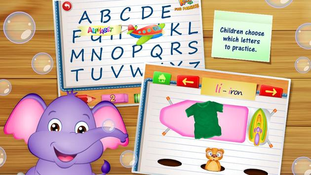 123 Kids Fun ALPHABET - Inggris untuk anak-anak screenshot 2