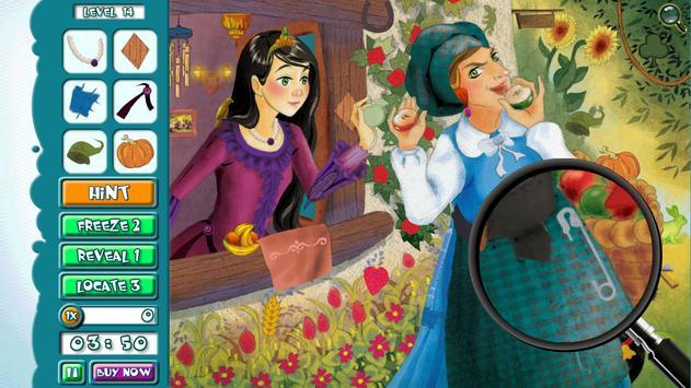 Hidden Object FREE: Fairytales स्क्रीनशॉट 7