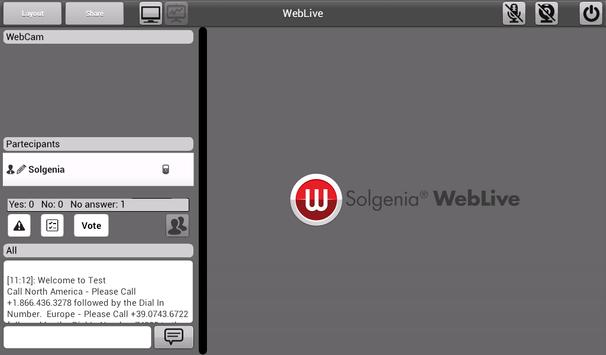 Weblive screenshot 11