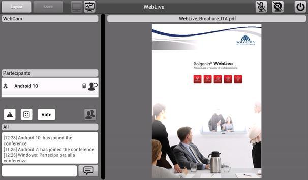 Weblive screenshot 12