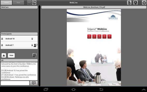 Weblive screenshot 7