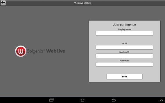 Weblive screenshot 5