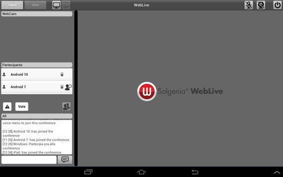 Weblive screenshot 6