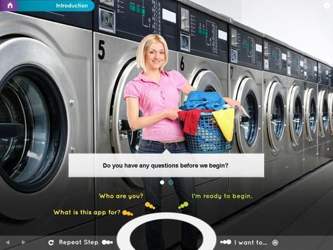 Laundry Care Symbols poster