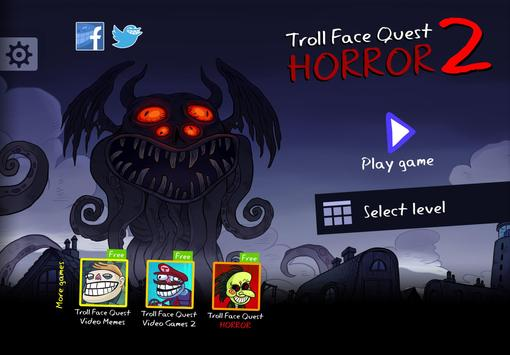 Troll Face Quest Horror 2:🎃Специальный Хэллоуин🎃 постер