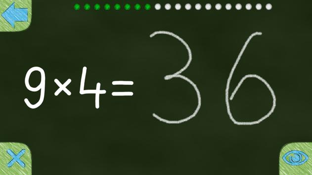 Multiplication Tables 10x10 screenshot 17