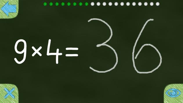 Multiplication Tables 10x10 screenshot 3