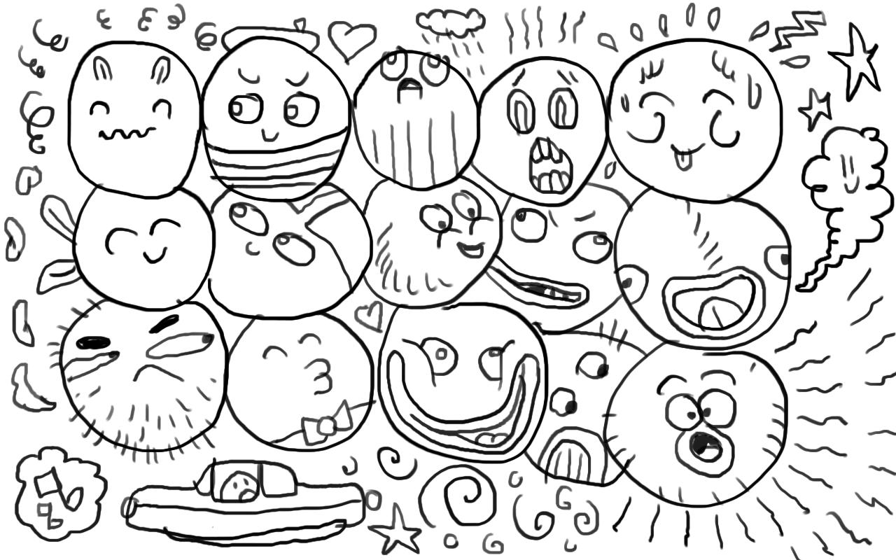 Doodle Drawing Pad poster