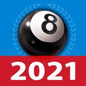 8 Ball Billard Offline / Online Pool freies Spiel Zeichen