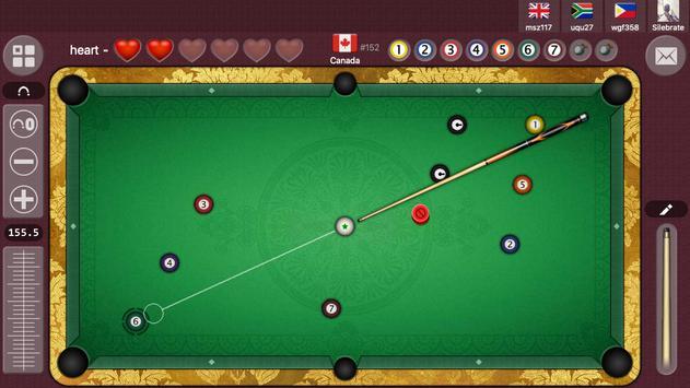 8 bola Offline / Online biliar permainan gratis syot layar 8