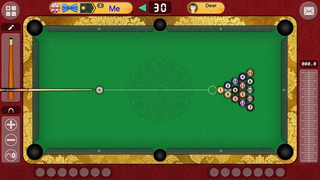 8 bola Offline / Online biliar permainan gratis syot layar 4