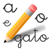 Learning to Write. Calligraphy icon