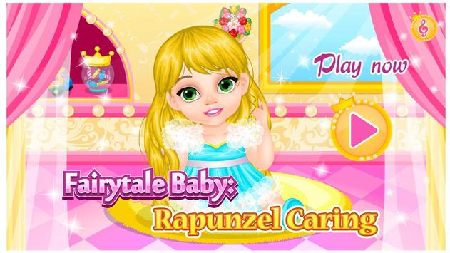 Baby Rapunzel Care poster