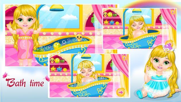 Baby Rapunzel Care screenshot 1