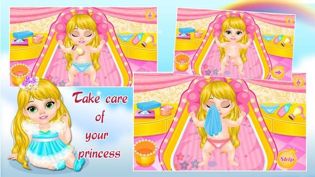 Baby Rapunzel Care screenshot 2