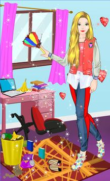 High School Room Cleaning and Decorating 海報