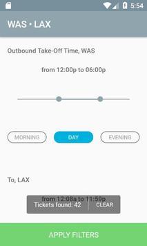 Air flight booking screenshot 5
