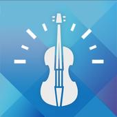 скрипка тюнер - тюнер для виолы, виолончели иконка