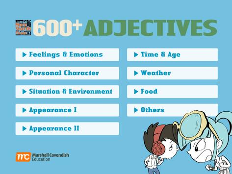 More Words Please 600+ Adj poster
