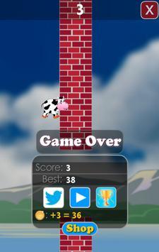 Jetpack Jumper Cow screenshot 2