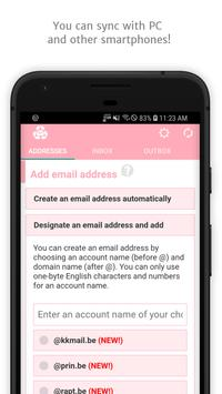 Instant Email Address - Multipurpose free email! screenshot 3