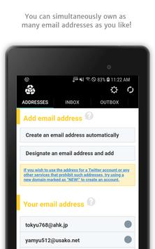 Instant Email Address - Multipurpose free email! screenshot 8