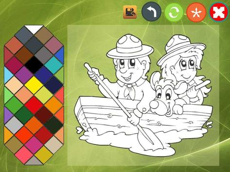 Kids coloring book screenshot 3
