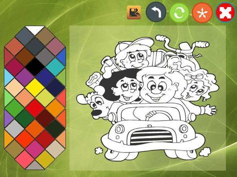 Kids coloring book screenshot 4