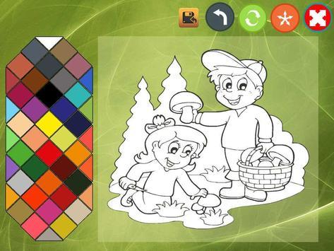 Kids coloring book screenshot 5