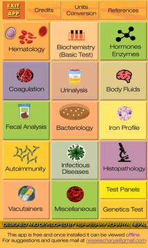 Lab Test Reference Range (Free & Offline) screenshot 1