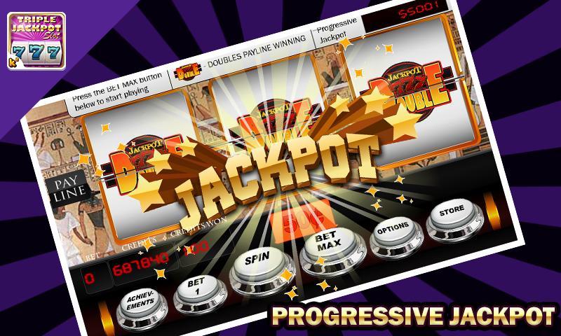 Triple Jackpot - Slot Machine poster