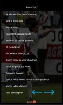 Canciones y Letras River Plate screenshot 5