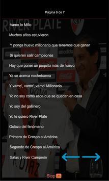 Canciones y Letras River Plate screenshot 6