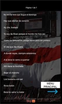 Canciones y Letras River Plate screenshot 1