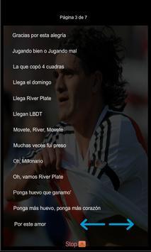 Canciones y Letras River Plate screenshot 3
