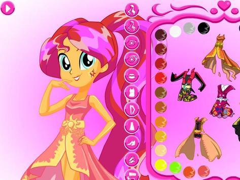 Fashion Girls Dress up Makeup screenshot 1