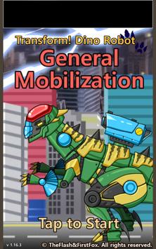 Transform Dino Robot - General Mobilization screenshot 6