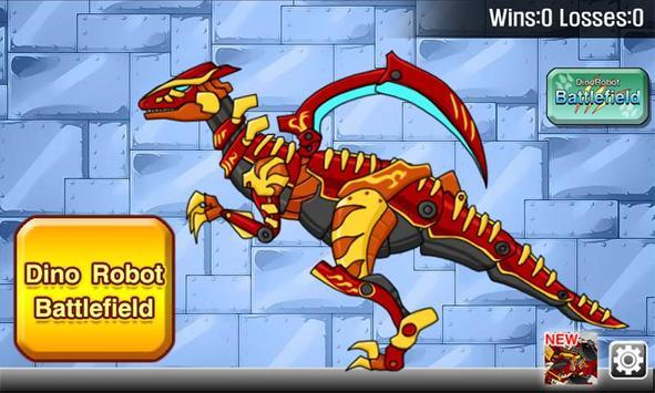 Velociraptor - Combine! Dino Robot screenshot 1
