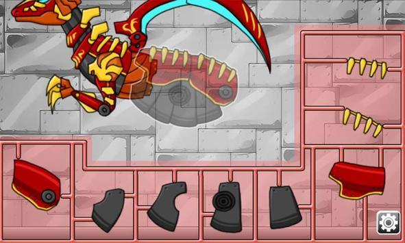 Velociraptor - Combine! Dino Robot screenshot 4