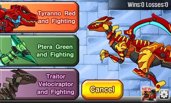 Velociraptor - Combine! Dino Robot screenshot 5
