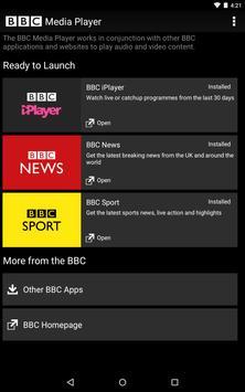 BBC Media Player Plakat