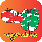 PAINT AND COLORING VEGETABLES icon
